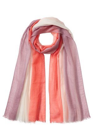 Cashmere and Cotton Scarf Gr. One Size