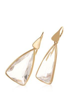 18k Yellow Gold Topaz Earrings By Dale Novick | Moda Operandi