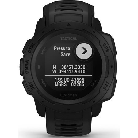 Garmin Instinct Tactical GPS Watch in Black - Walmart.com - Walmart.com