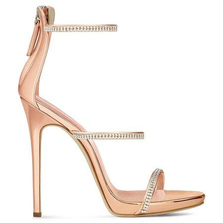 diamond heels gold - Buscar con Google