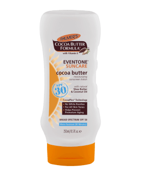 Palmer's Eventone Suncare Cocoa Butter Moisturizing Sunscreen Lotion SPF 30