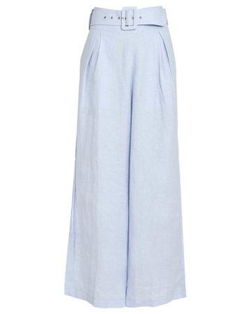 FAITHFULL THE BRAND Lena Wide-Leg Linen Pants | INTERMIX®