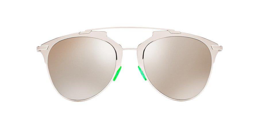 Dior REFLECTED/S 52 Silver & Silver Sunglasses | Sunglass Hut USA