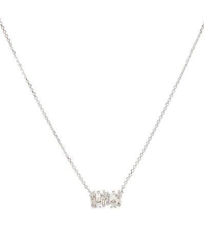 Fireworks 18Kt White Gold Necklace With Diamonds - Suzanne Kalan | Mytheresa