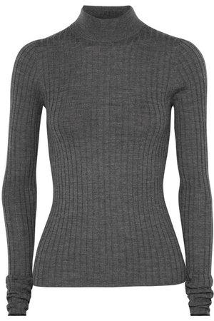 Acne Studios | Kulia ribbed merino wool turtleneck sweater | NET-A-PORTER.COM