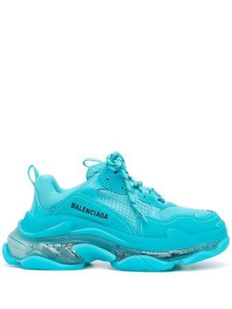 Balenciaga Triple S clear-sole Sneakers - Farfetch
