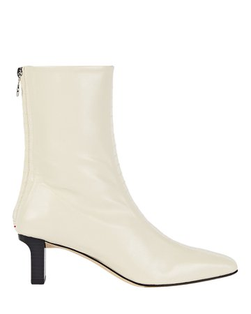 Aeyde Molly Leather Ankle Booties   INTERMIX®