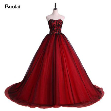 red ball gown - Google Search