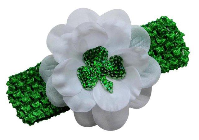 Sequin Shamrock St. Patrick's Day Crochet Baby Toddler | Etsy