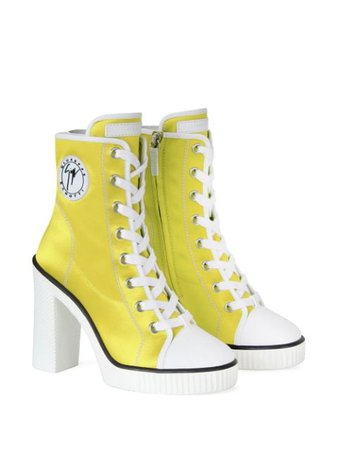 Giuseppe Zanotti lace-up Sneaker Boots - Farfetch