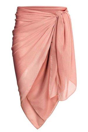 peach sarong
