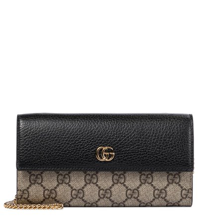 Gucci - Clutch portafoglio GG Marmont | Mytheresa