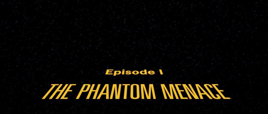 Star Wars (1999) I The Phantom Menace - 01