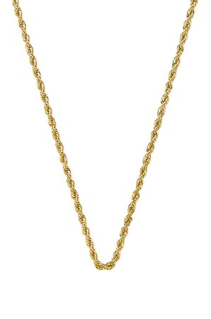 Rope Layering Chain Necklace