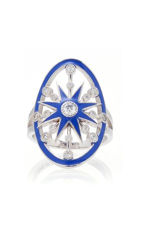 Colette Jewelry Blue Galaxia Ring