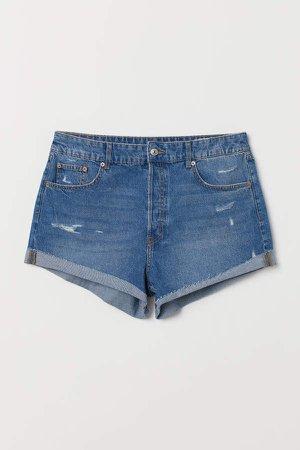 H&M+ Denim Shorts - Blue