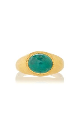 Prounis Emerald Roz Ring