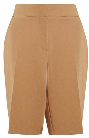 Camel Tailored Shorts