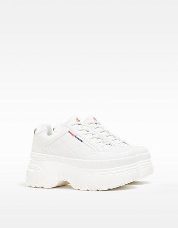 XL platform sneakers - NEW - Woman | Bershka