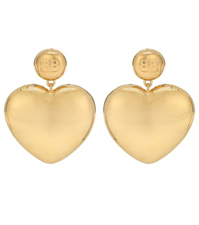 Heart Earrings | Balenciaga - Mytheresa