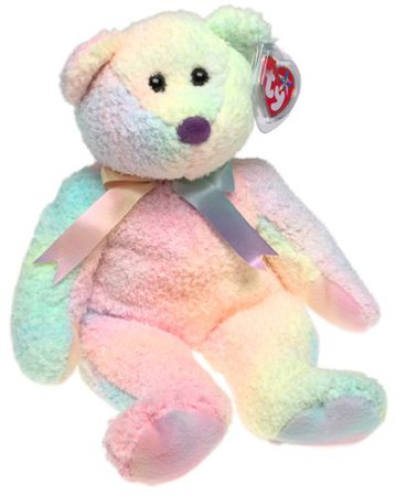 Ty Beanie Buddy - Groovy the Bear Pastel Colors [Toy]: Amazon.ca: Home & Kitchen
