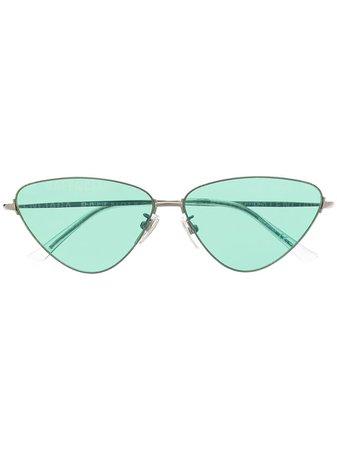 Balenciaga Eyewear Invisible Cat eye-solglasögon - Farfetch