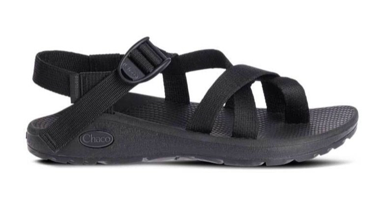 Chaco Z Cloud 2 Sandals for Women in Solid Black