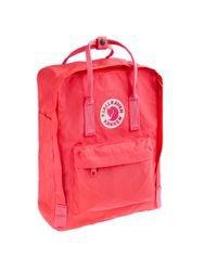 Fjallraven Classic Kanken Backpack in Pink for Men - Lyst