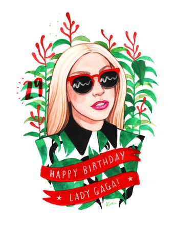 lady gaga birthday - Google Search