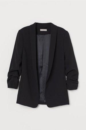 Shawl-collar Jacket - Black - Ladies | H&M US