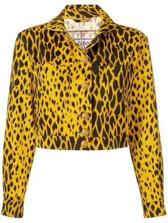 Versace Vintage 1980's cropped jacket $757 - Buy VINTAGE Online - Fast Global Delivery, Price