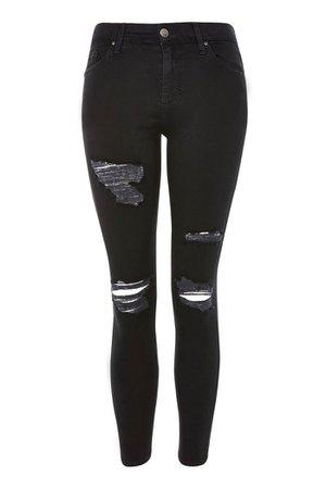PETITE Black Leigh Jeans | Topshop