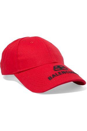 Balenciaga   Embroidered cotton-twill baseball cap   NET-A-PORTER.COM