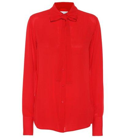 Valentino - Silk blouse | Mytheresa
