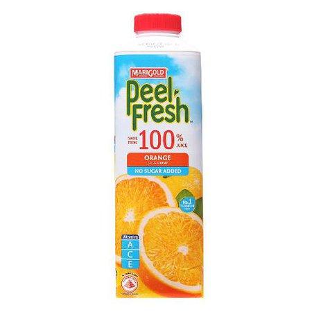 MARIGOLD Peel Fresh No Sugar Added Juice Drink - Orange