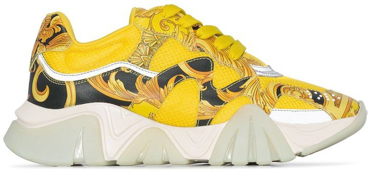 baroque print Chain Reaction sneakers