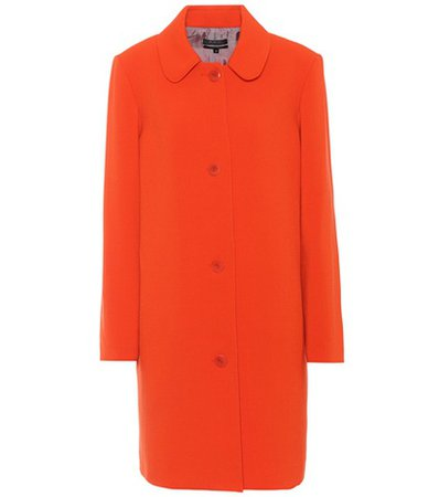 Dolly crêpe coat