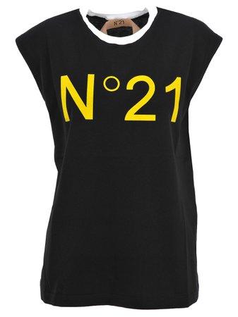 N21 Logo Print T-shirt
