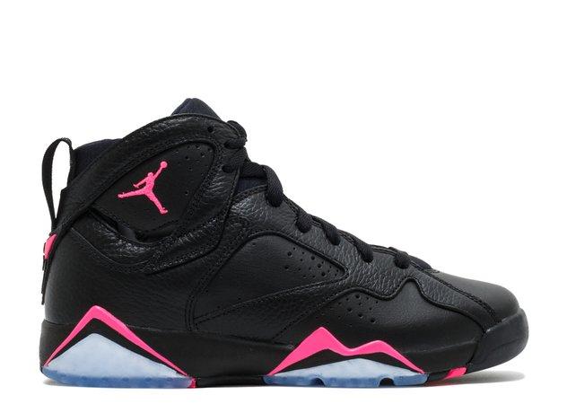 Air Jordan 7 Retro GG (gs) - Air Jordan - 442960 018 - black/hyper-pink-hyper-pink | Flight Club