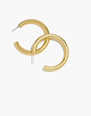 Chunky Large Hoop Earrings