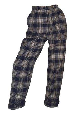 plaid pants