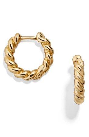 BaubleBar Petra Huggie Hoop Earrings | Nordstrom