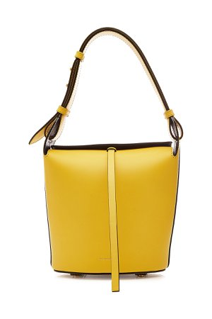 The Small Bucket Leather Tote Gr. One Size