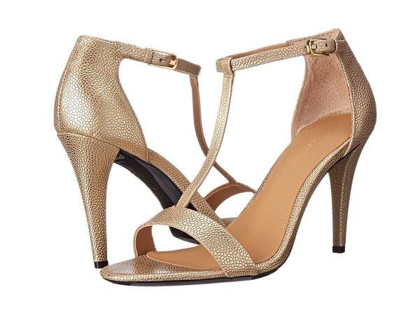 dark gold heels - Google Search