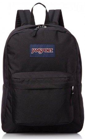 black jansport bookbag