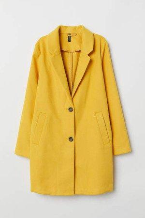 Coat - Yellow