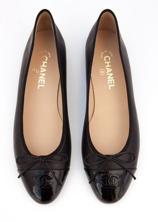 Chanel Ballet Flats in Black