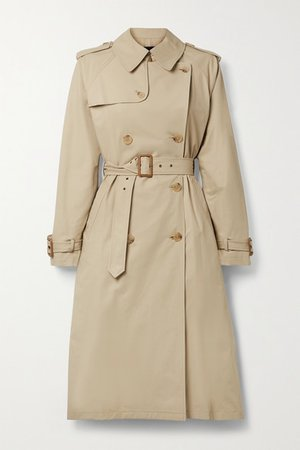 Tanner Cotton-blend Trench Coat - Beige