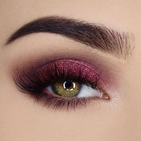 Fuchsia/Magenta Eye Makeup