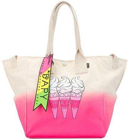 Gradient Dye Ice Cream Shopper Bag